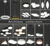 luminaires anchises lighting 3d max