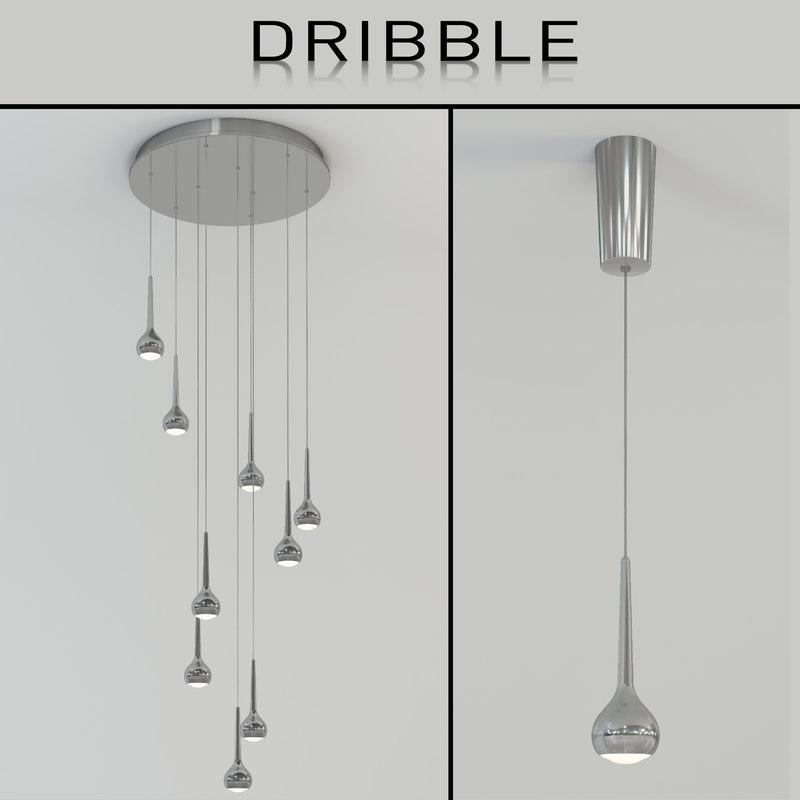 3d indoor light dribble model