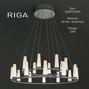 indoor light riga 3d model