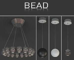 indoor light bead 3d model