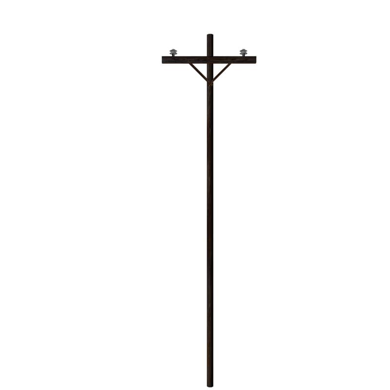 3d model power pole
