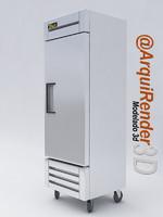 Refrigerator utility one door 19FZ TrueMFG Brand
