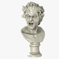 3d model damned soul lorenzo bernini