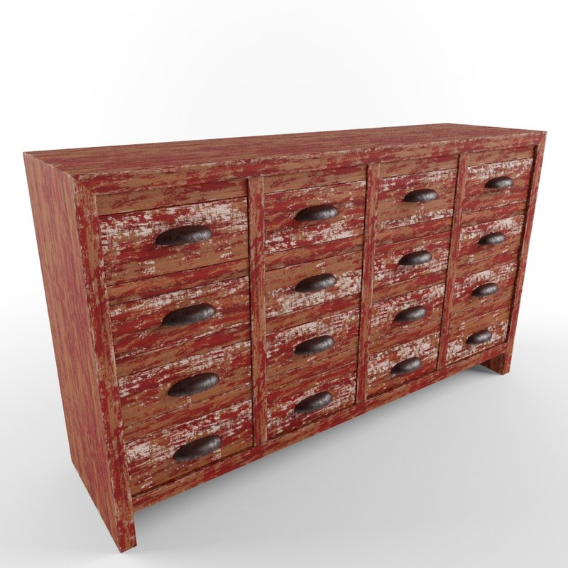 3ds chest drawers