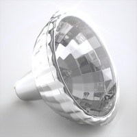 halogen light bulb 3d lwo