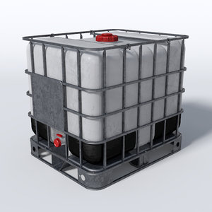 3d ibc container water model