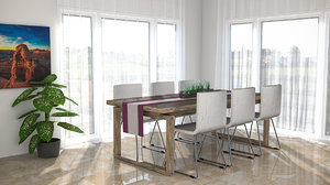obj dining table