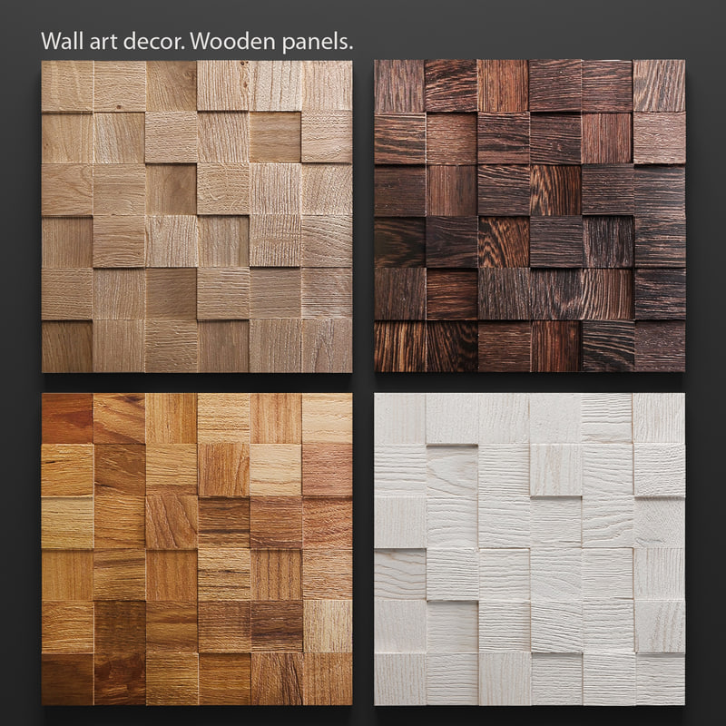 mosaic wood panel set max