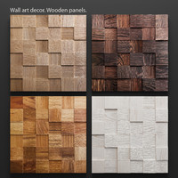 mosaic wood panel set max