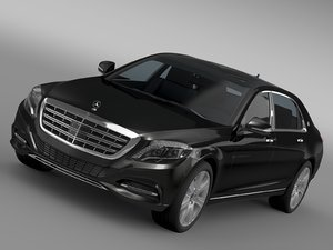 mercedes maybach guard s600 3d c4d