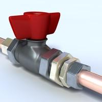 valve 3d fbx