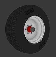 3d model of wheel bkt