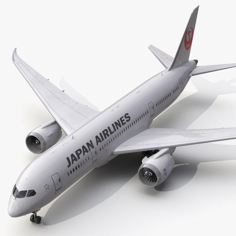 boeing 787 8 dreamliner 3d 3ds