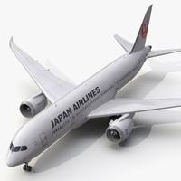 Boeing 787-8 Dreamliner Japan Airlines