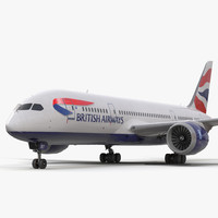 boeing 787 8 dreamliner 3d model