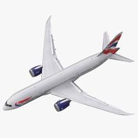 max boeing 787-8 dreamliner british airways
