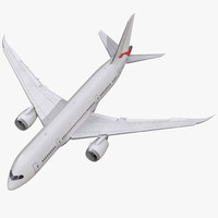 3d max boeing 787 8 dreamliner