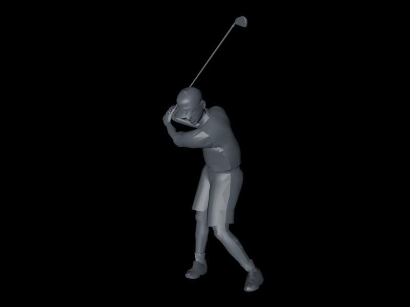 basic golfer 3ds