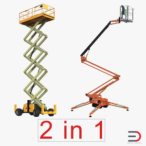 max scissor lifts rigged