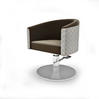 chair hairdresser 3d model