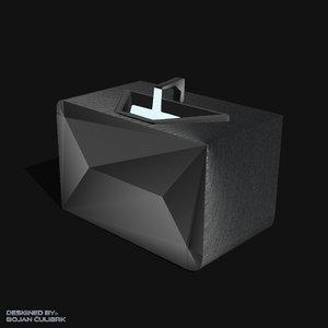 3d obj andromeda sink