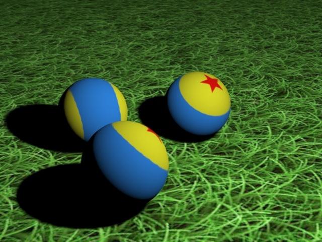 3 balls 3d fbx