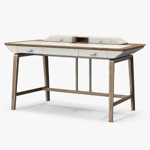 studium writing desk 3d model