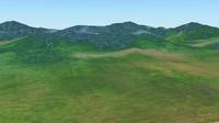 Hill terrain
