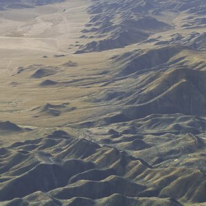 3d large scale nevada -