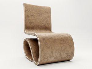 s chair 3d model