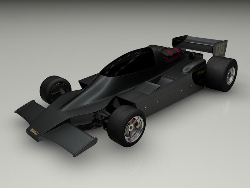 3d model f1 tech 06