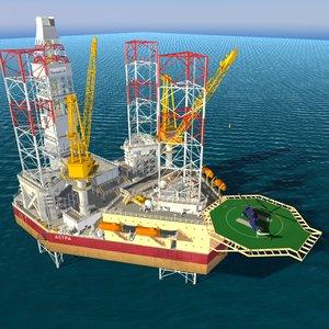 obj jack oil rig