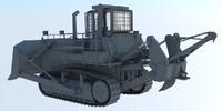 3d dozer chetra model