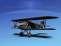 3d model albatross fighter diii