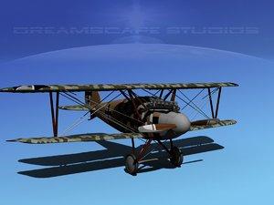 3d albatross fighter diii model