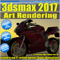 3ds max 2017 Art Rendering vol 60 MP4