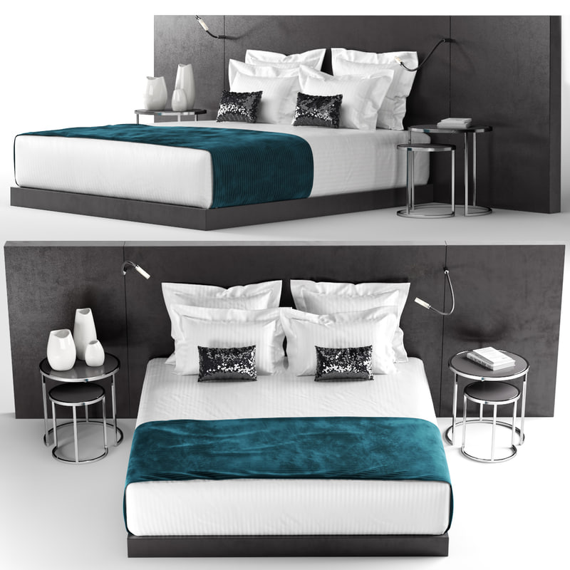 3d hotel bedding lamps