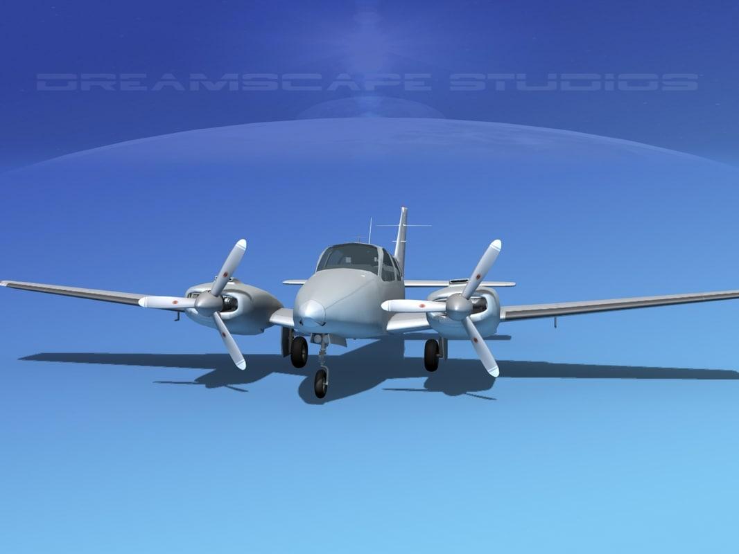 3d beechcraft aircraft family