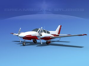 3d beechcraft aircraft family