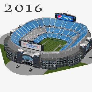3d model bank america stadium