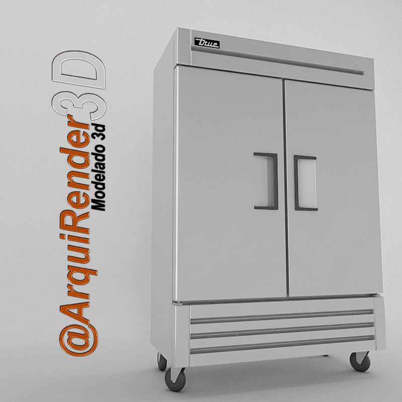 3ds refrigerator true