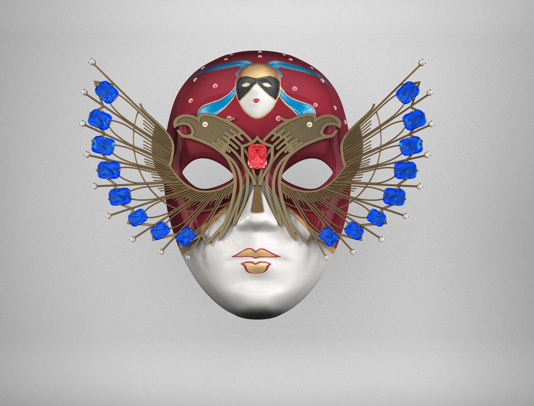3d mask golden model