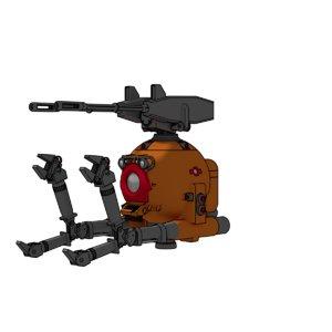 3d model of rb 79k rb-79k