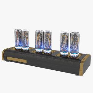 max clock lamps