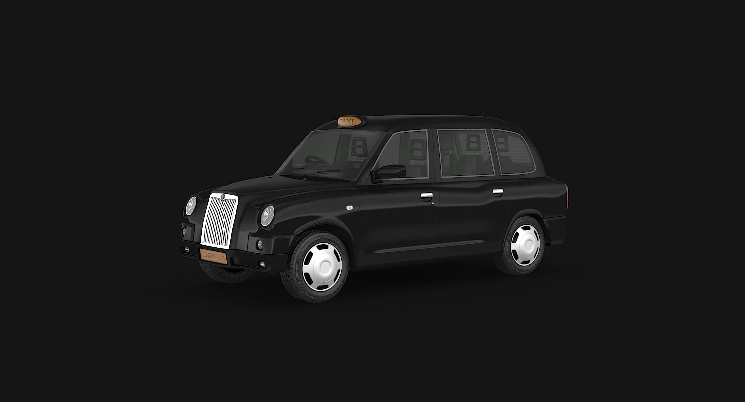 bus london taxi 3ds