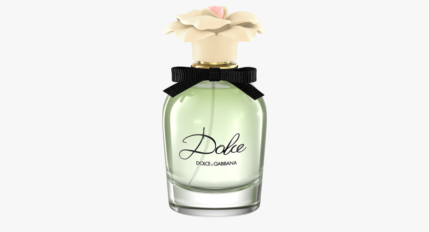 dolce perfume 3d model