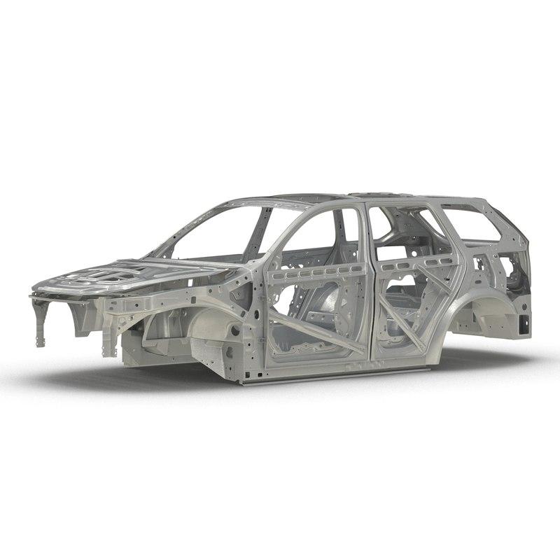 suv frame 3d model