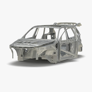 3d suv frame rigged