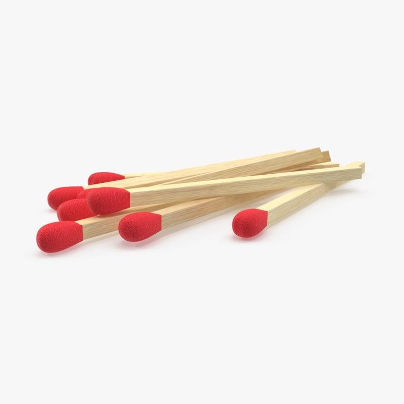 3d pile matches