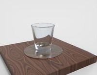 water glass waterglass 3d 3ds